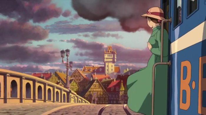 Софи уезжает мультик Ходячий замок